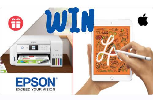 Ellen DeGeneres Contest: Win an Apple iPad and Epson EcoTank Printer