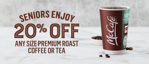 McDonald's Coupons Canada - new mcdonalds coffee discount for Seniors