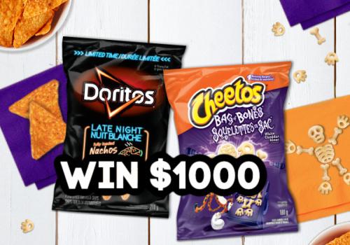 Win $1000 Cash from Tasty Rewards