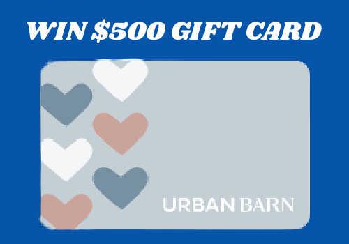 House & Home Contest: Win a $500 Urban Barn gift card