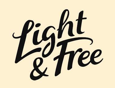 Light and Free yogurt Canada logo