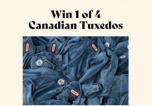 Bootlegger Contest: WIN 1 of 4 Canadian Tuxedos