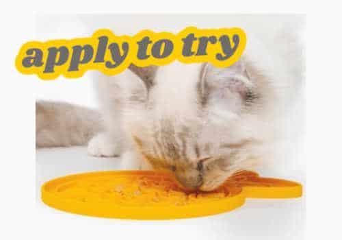 Catit FREE Sample: Try Creamy Feeding Mat for FREE