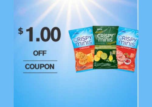 Quaker Coupons: Save $1.00 off Crispy Minis rice snacks