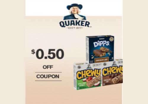Quaker Coupons: Printable Savings on Oatmeal and Bars