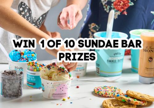 Win Sundae Bar Prize Packs