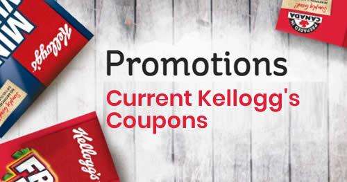 Kellogg Canada coupons - current kellogg's promotions